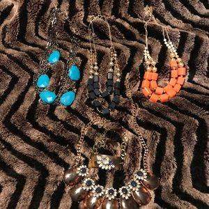 Set 4 The Limited/Bauble Bar necklaces/bracelet